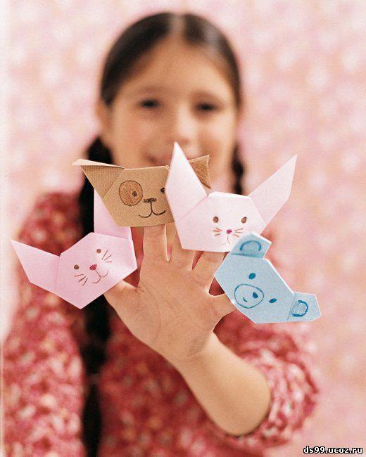Делаем оригами с ребёнком